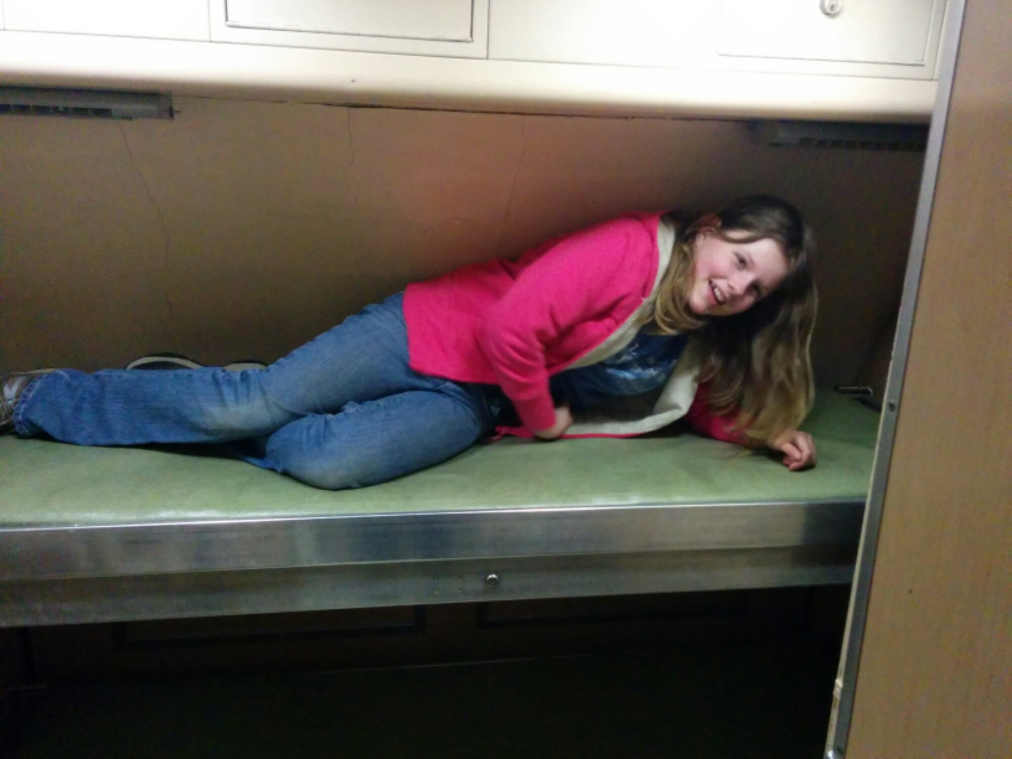 Alpha child in a bunk