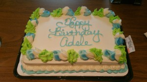 Alpha's Birthday Cake