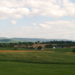 View across Antietam valley