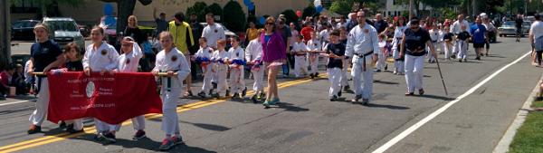 Parade line