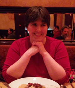 20150122 Meghan at Cheesecake Factory