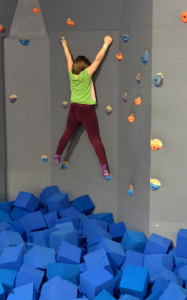 Beta on the climbing wall