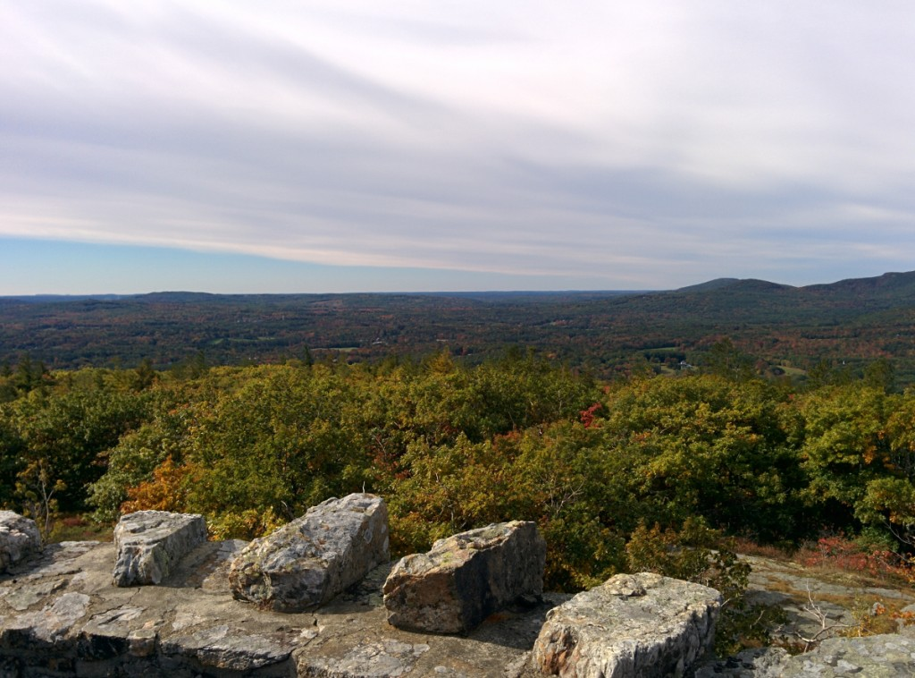 SE view from Mt. Battie