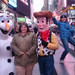 woody and olaf